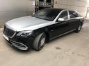 Прокат автомобиля Maybach S 560 4MATIC комплектация AMG Metallic and Black в Аликанте, фото 3
