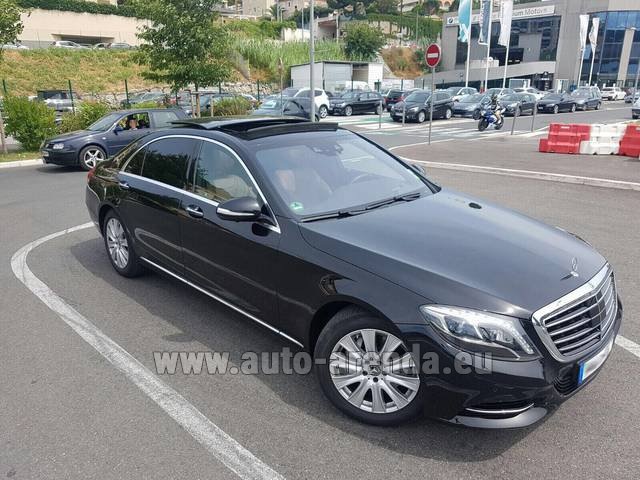 Rental Mercedes-Benz S 350 Long AMG in San Sebastian