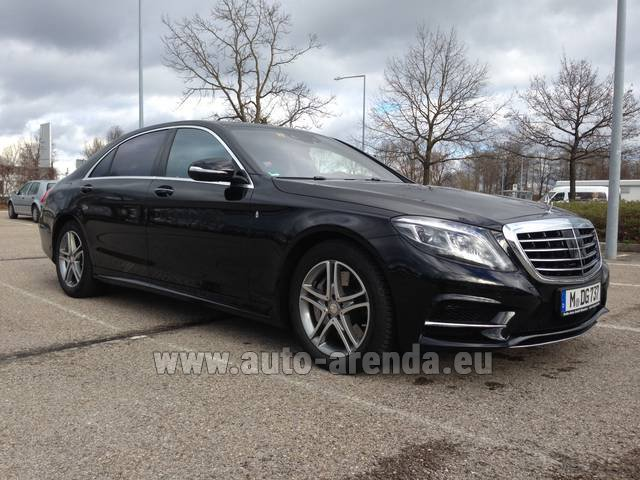 Rental Mercedes-Benz S 350 Long Diesel 4x4 AMG in San Sebastian
