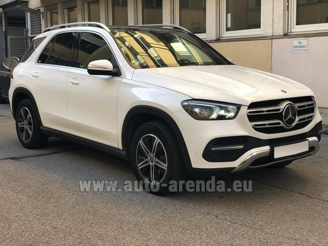Прокат Мерседес-Бенц GLE 350 4Matic AMG комплектация в Аликанте