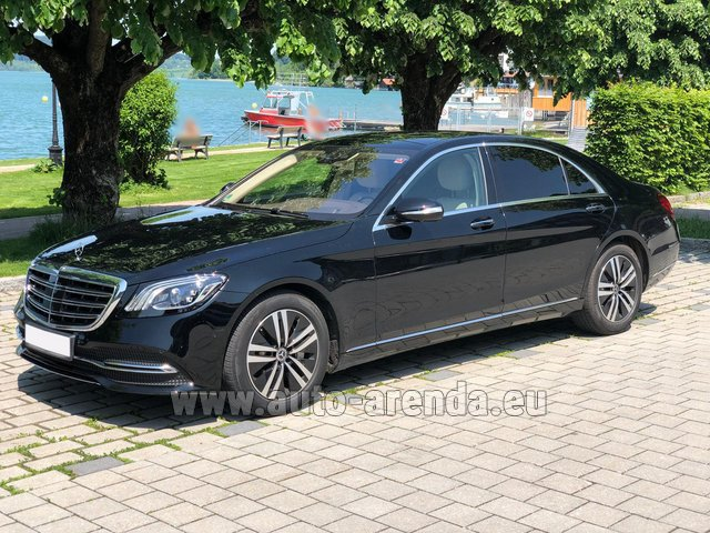 Rental Mercedes-Benz S-Class S400 Long 4Matic Diesel AMG equipment in Spain