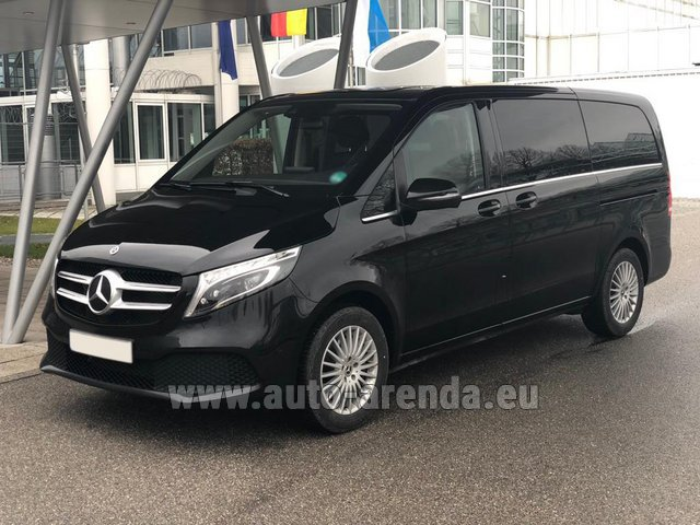 Rental Mercedes-Benz V-Class (Viano) V 300 d 4MATIC AMG equipment in Spain