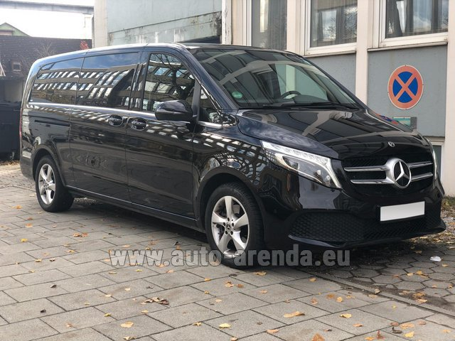Rental Mercedes-Benz V-Class V 250 Diesel Long (8 seater) in Gibraltar