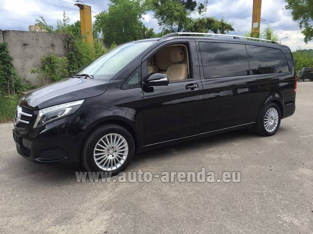Rental Mercedes-Benz V-Class V Limo Business VAN in Spain