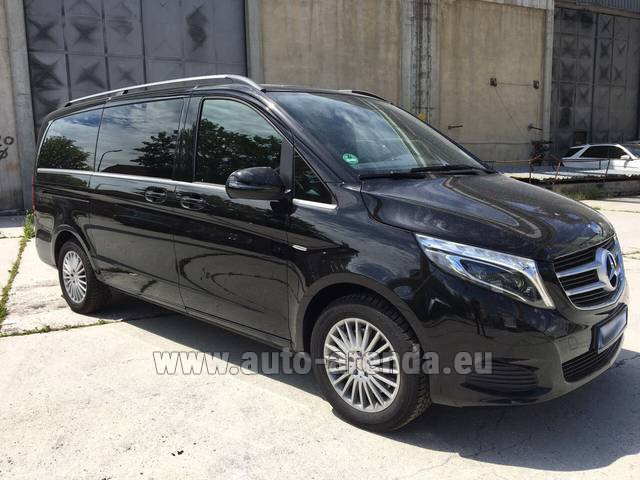 Rental Mercedes-Benz V-Class (Viano) V 250 Long 8 seats in Playa Puerto Banus