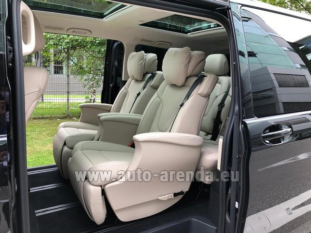 Прокат Мерседес-Бенц V300d 4MATIC EXCLUSIVE Edition Long LUXURY SEATS AMG Equipment в Аликанте