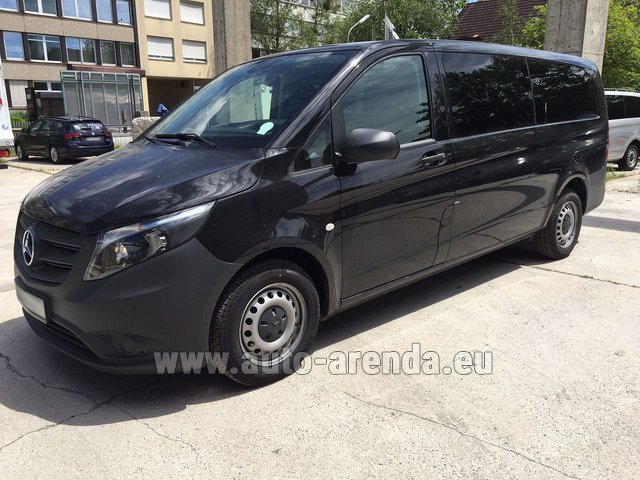 Rental Mercedes-Benz VITO Tourer 116 CDI (9 seats) AMG equipment in Spain