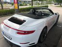 Rent-a-car Porsche 911 Carrera Cabrio White in Valencia, photo 2
