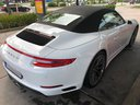 Rent-a-car Porsche 911 Carrera Cabrio White in Valencia, photo 3