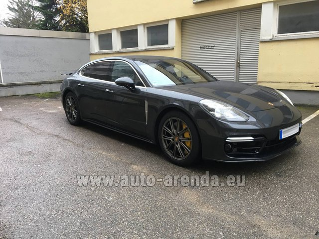 Rental Porsche Panamera Turbo Executive in Alicante