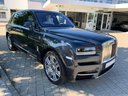 Rent-a-car Rolls-Royce Cullinan dark grey with its delivery to Madrid-Barajas airport, photo 1