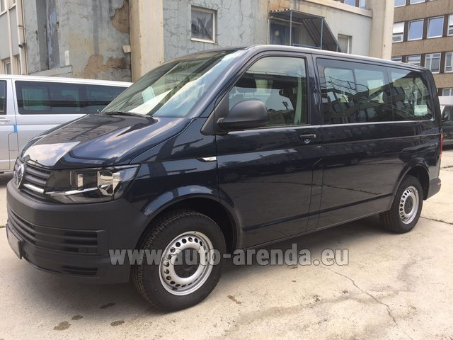 Rental Volkswagen Transporter T6 (9 seater) in Barcelona