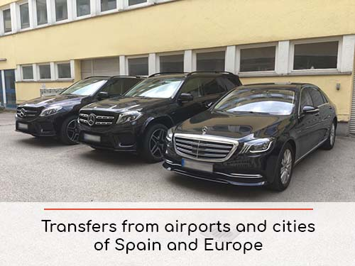 Transfers from airports and cities in Spain and Europe | Car rental with driver